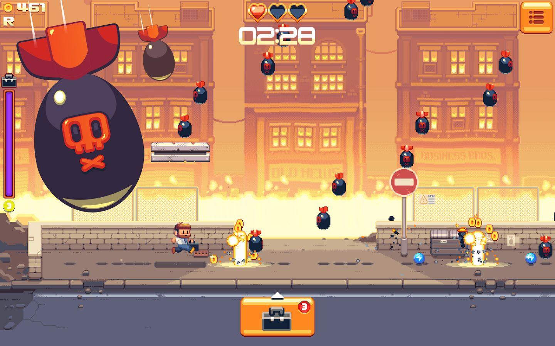 Ultimate Briefcase est un jeu d'arcade aussi basique qu'addictif