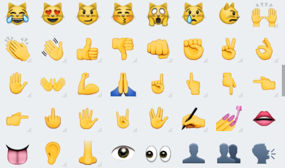 WhatsApp pour Android fait le plein de nouveaux emojis