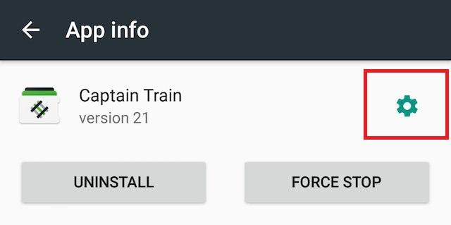 Android N permet d'accéder aux réglages des applications directement depuis les Paramètres