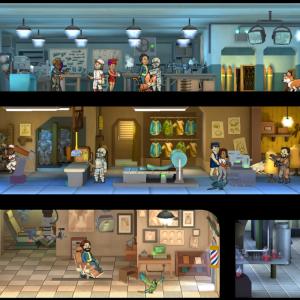 Fallout Shelter v1.4 : des animaux, de la fabrication, un coiffeur…