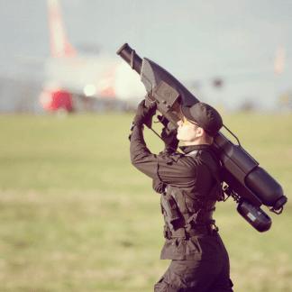 Pour faire le ménage dans le ciel, un bazooka anti-drones
