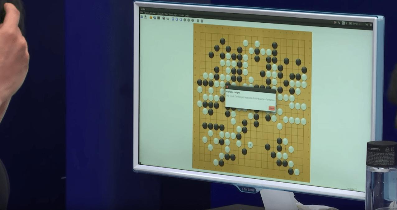 Au jeu de Go, l'intelligence artificielle de DeepMind n'aura perdu qu'une manche