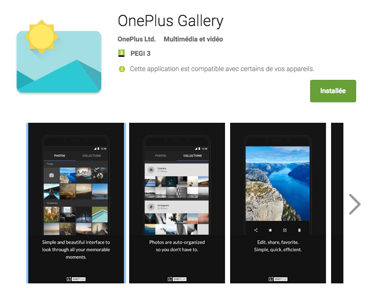 OnePlus Gallery : le OnePlus 2 a enfin une application galerie