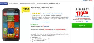 🔥 Méga bon plan : Le Motorola Moto X (2014) à seulement 150 euros chez CDiscount