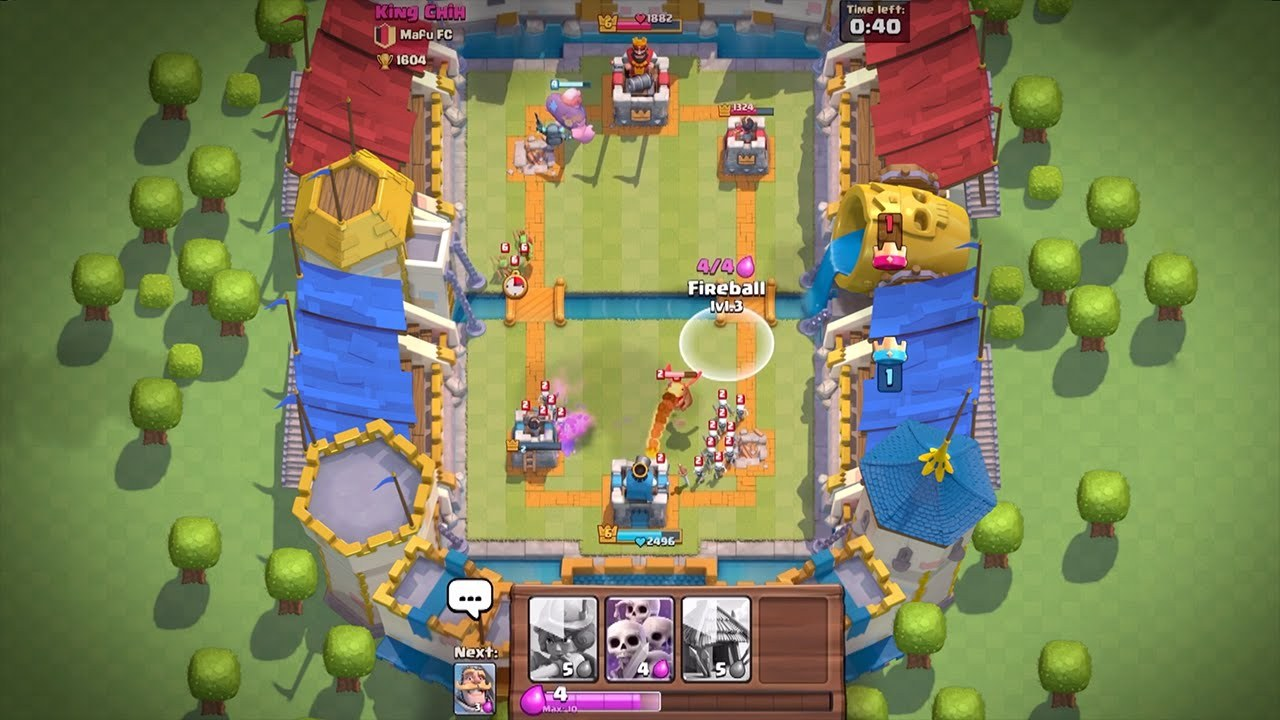 Clash Royale booste l'audience des jeux Supercell