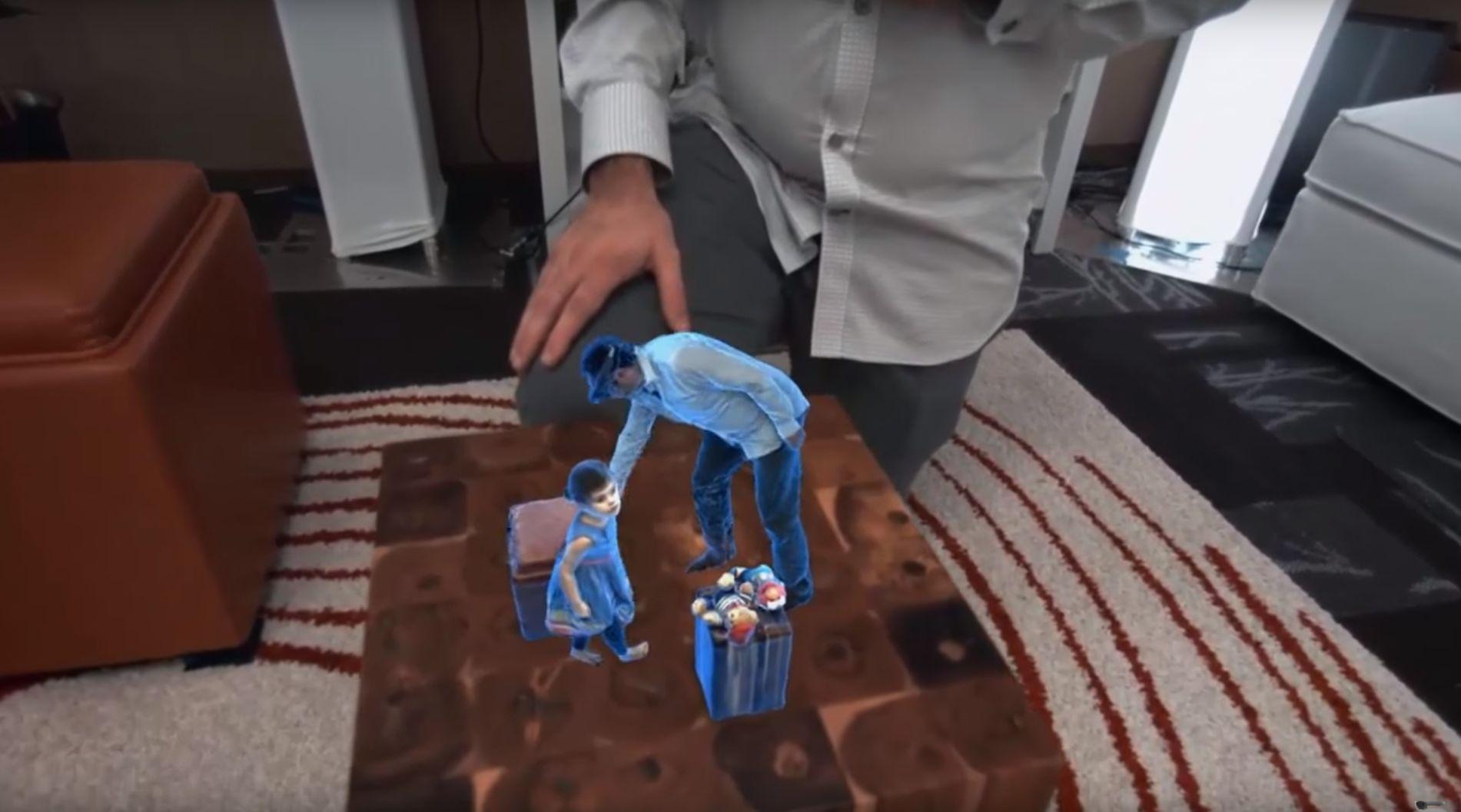 Hololens Holoportation : les hologrammes de Star Wars sont maintenant une réalité