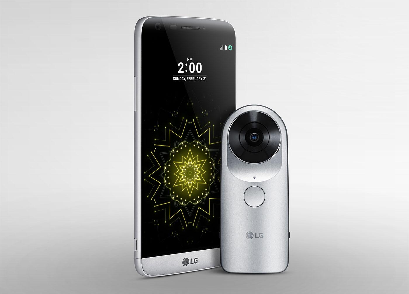LG détaille sa 360 Cam, un appareil «abordable»