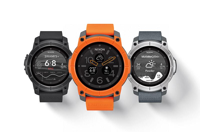 Nixon Mission : une montre sportive durcie sous Android Wear