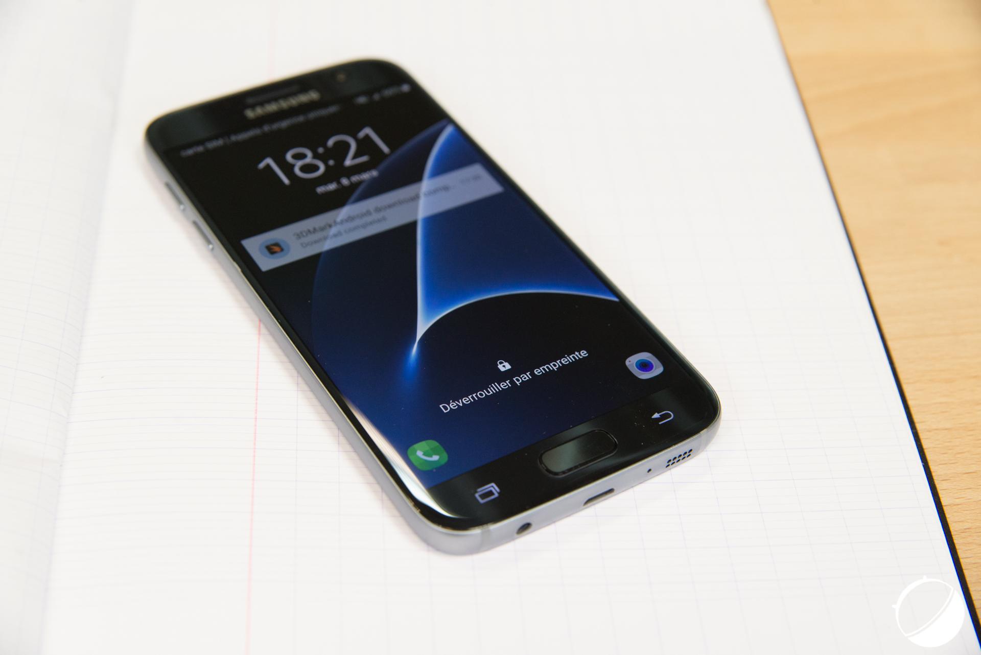 🔥 Vente flash : Aujourd'hui, le Samsung Galaxy S7 à environ 500 euros