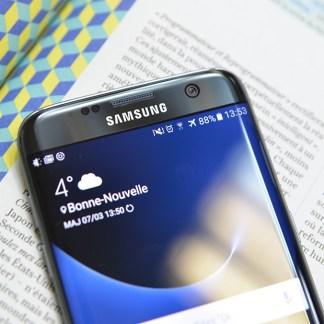Grâce aux bonnes ventes du GalaxyS7, Samsung a réalisé un bon début d'année