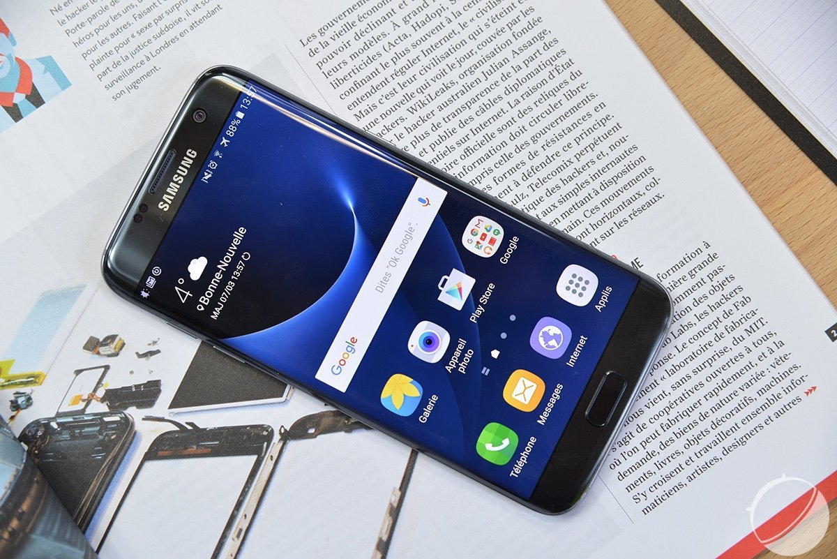 En fait, non, il ne devrait pas y avoir de Samsung Galaxy Note 7 plat