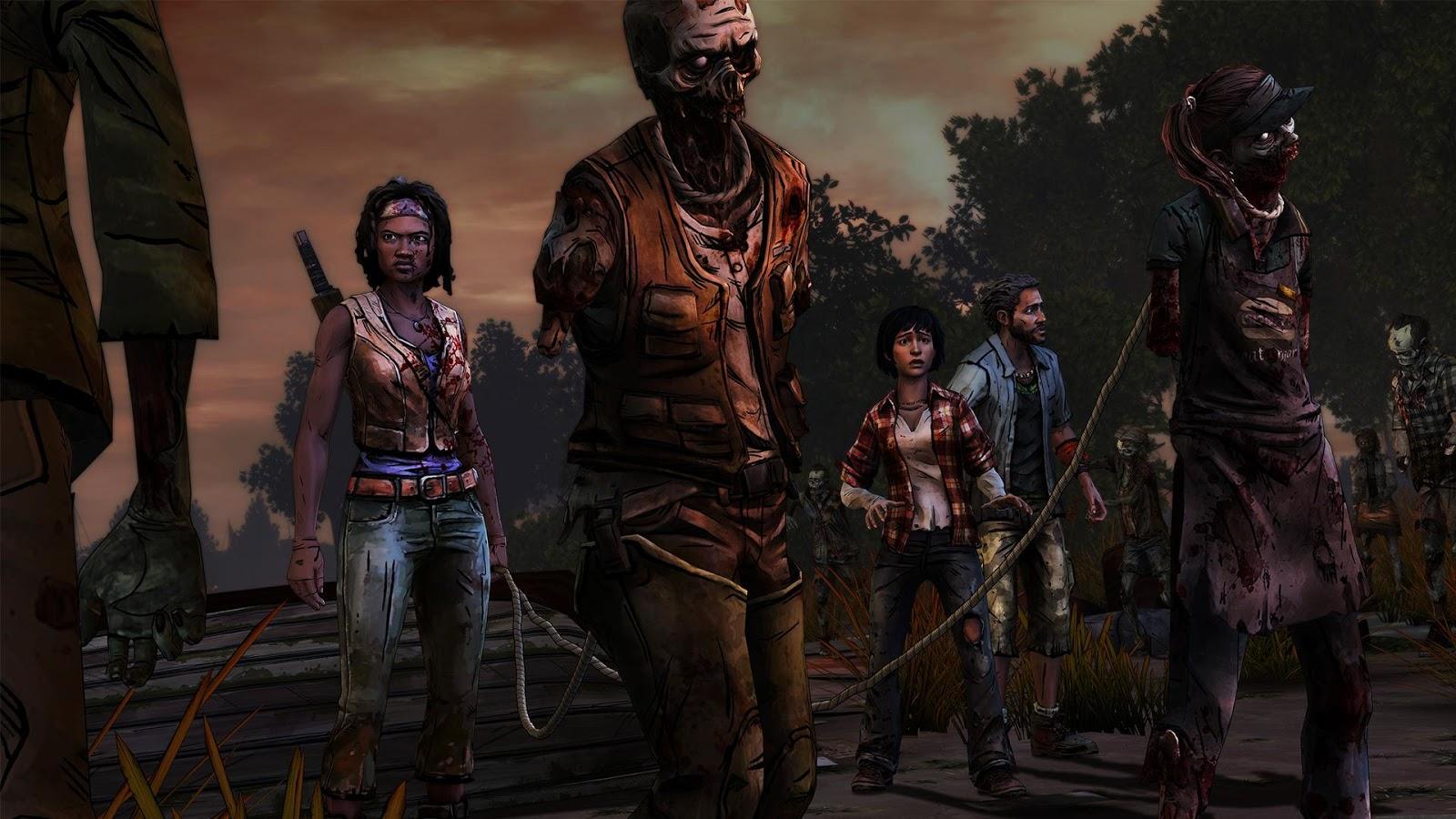 Nos jeux et applications de la semaine : UberEATS, The Walking Dead…