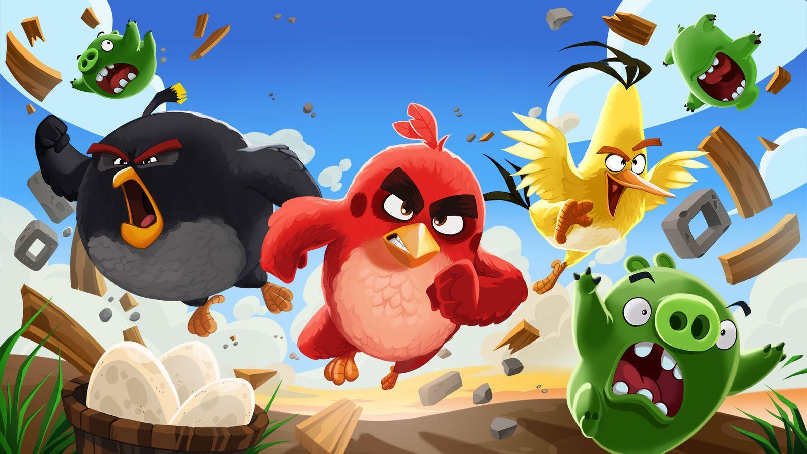 Rovio, le créateur d'Angry Birds veut entrer en bourse pour accélérer sa croissance