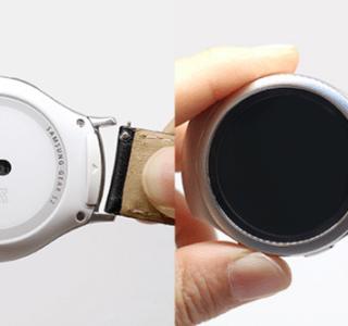 Vous pourrez enfin mettre des bracelets standard sur une Samsung Gear S2