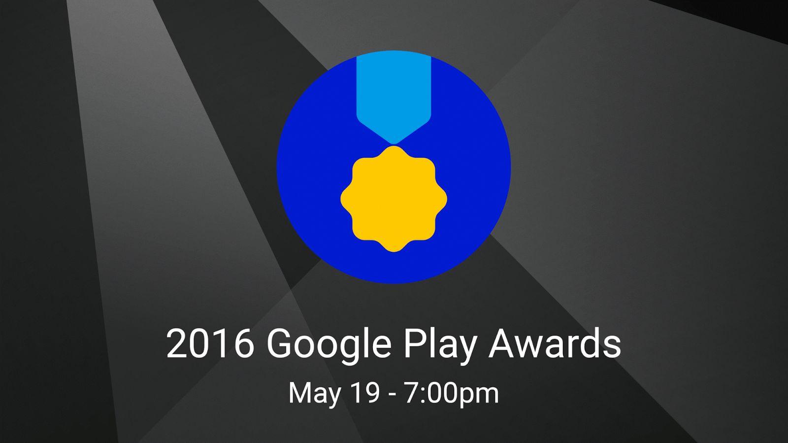 La Google I/O 2016 introduira pour la première fois le prix Google Play