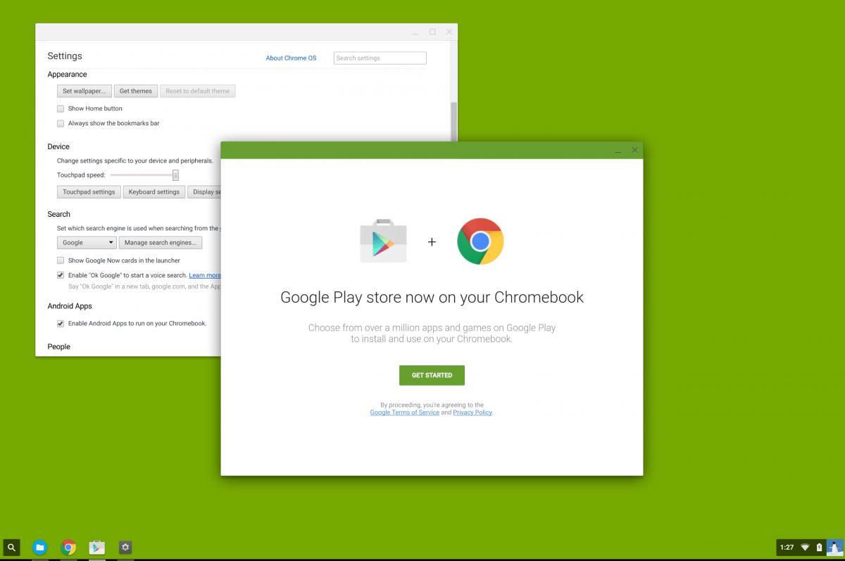 Chrome OS deviendra-t-il compatible avec le Google Play Store ?