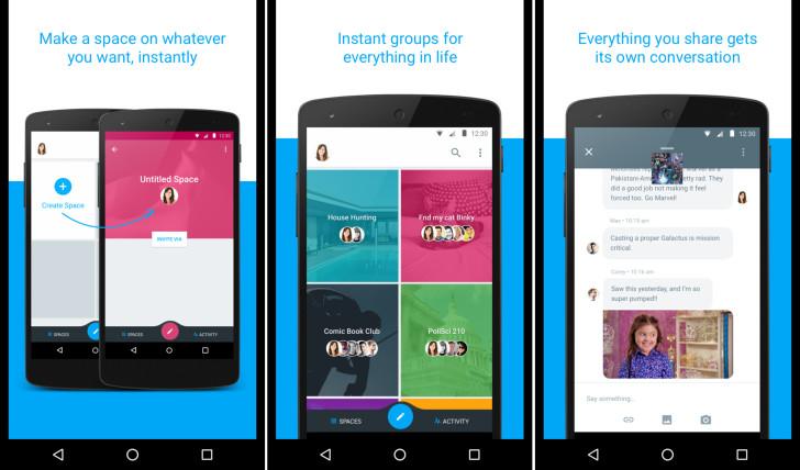 Google Spaces : une application en cours de test pour des conversations groupées et ciblées