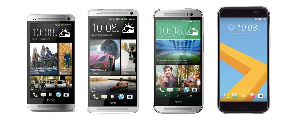 Du One au 10, retour sur quatre générations de HTC «M»