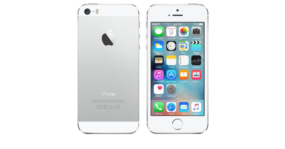 Le gouvernement américain demande à Apple de débloquer un iPhone 5s