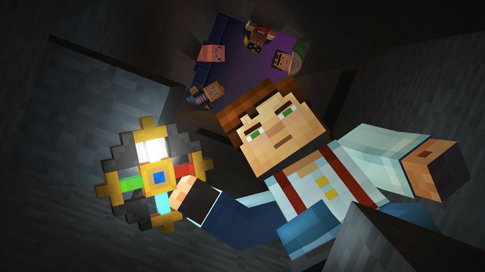 Minecraft Story Mode : l'épisode 1 devient gratuit sur le Google Play Store