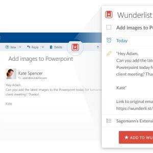 Outlook pour Android se synchronise désormais avec Facebook, Evernote et Wunderlist