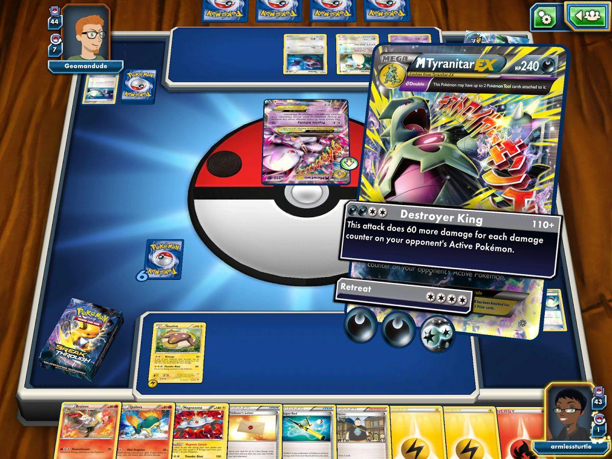 Pokémon TCG Online est maintenant disponible sur tablettes Android