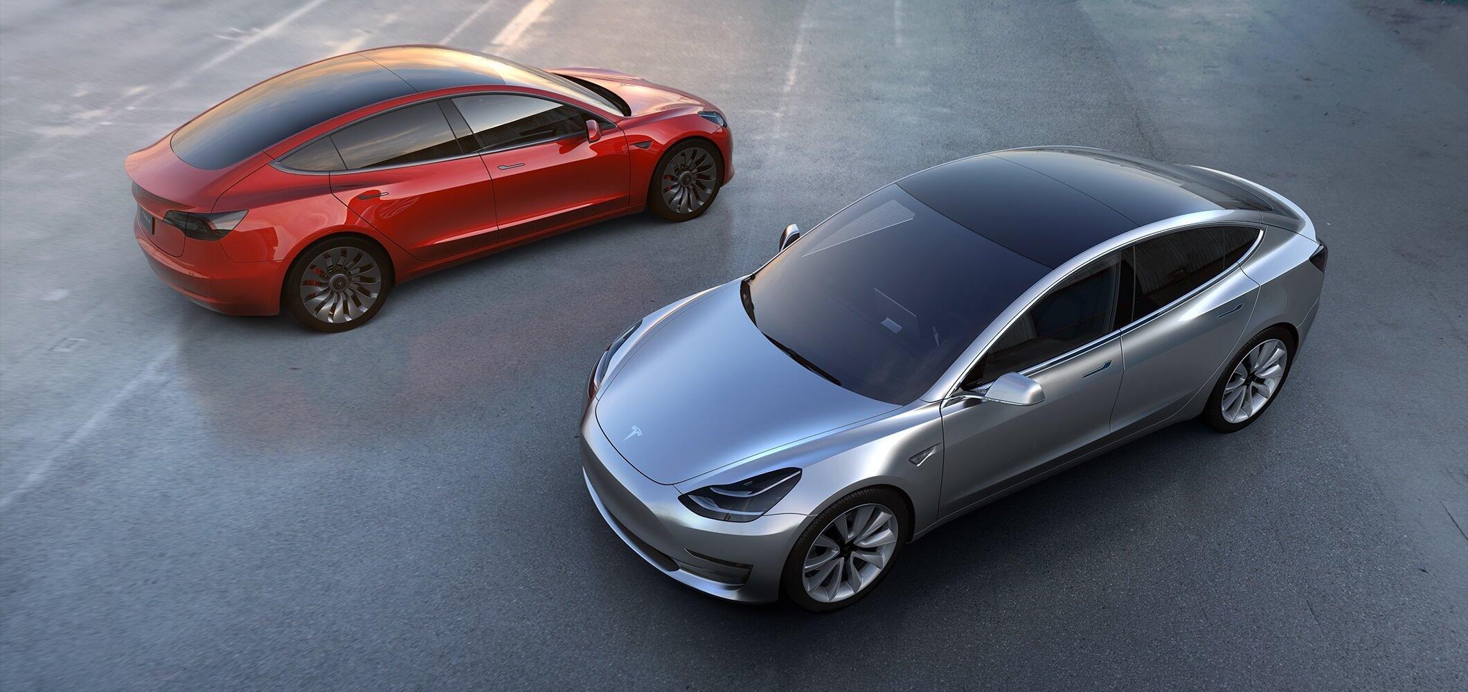 Tesla a reçu 325 000 réservations de Model 3 en une semaine