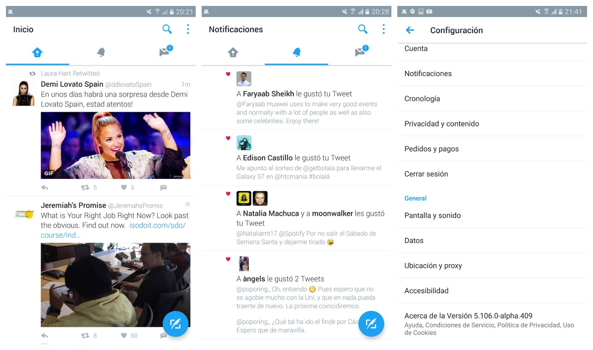 Twitter passe (enfin) au Material Design