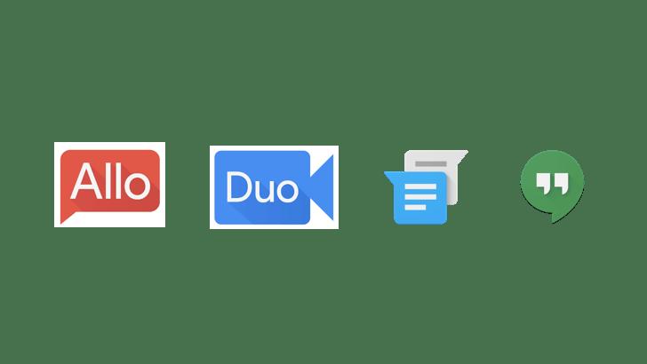 Hangouts n'est pas abandonné au profit d'Allo et Duo