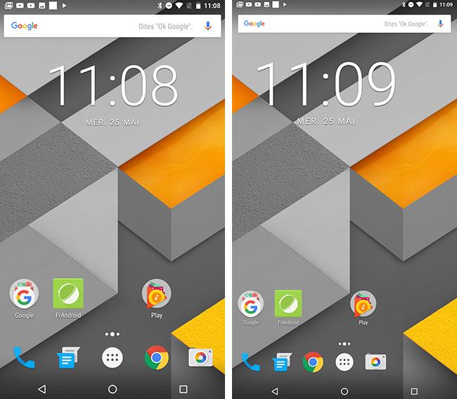 Android N permet de modifier avec finesse la taille de l'affichage