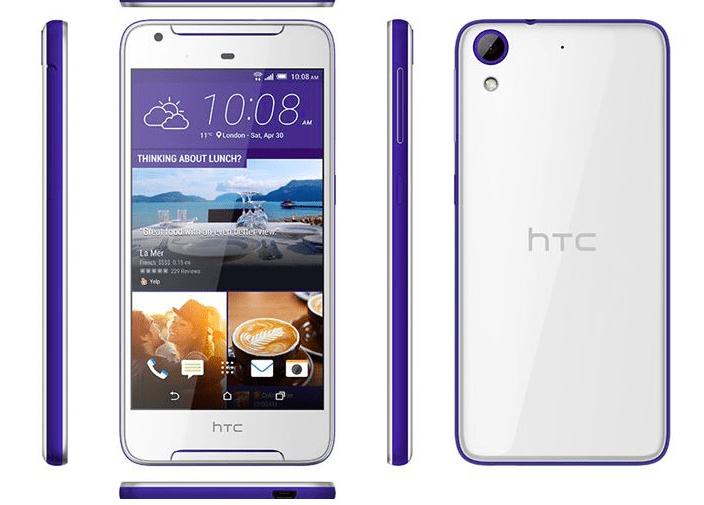 Un HTC Desire 628 se montre en photo et en détails