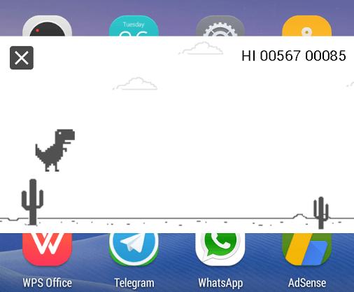 Steve le T-Rex (de Chrome) est sur le Play Store