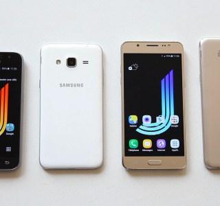 Prise en main des Samsung Galaxy J1, J3, J5 et J7 (2016)