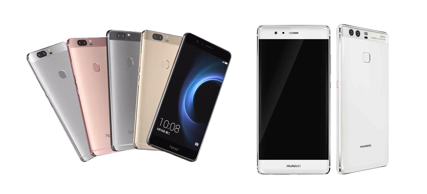 Honor V8 : doit-on le préférer aux Huawei P9 et Huawei P9 Plus ?