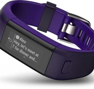 Garmin Vivosmart HR+ : GPS et fréquence cardiaque dans un bracelet