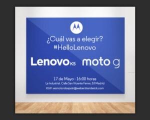 Lenovo Moto G(4), c'est pour le 17 mai