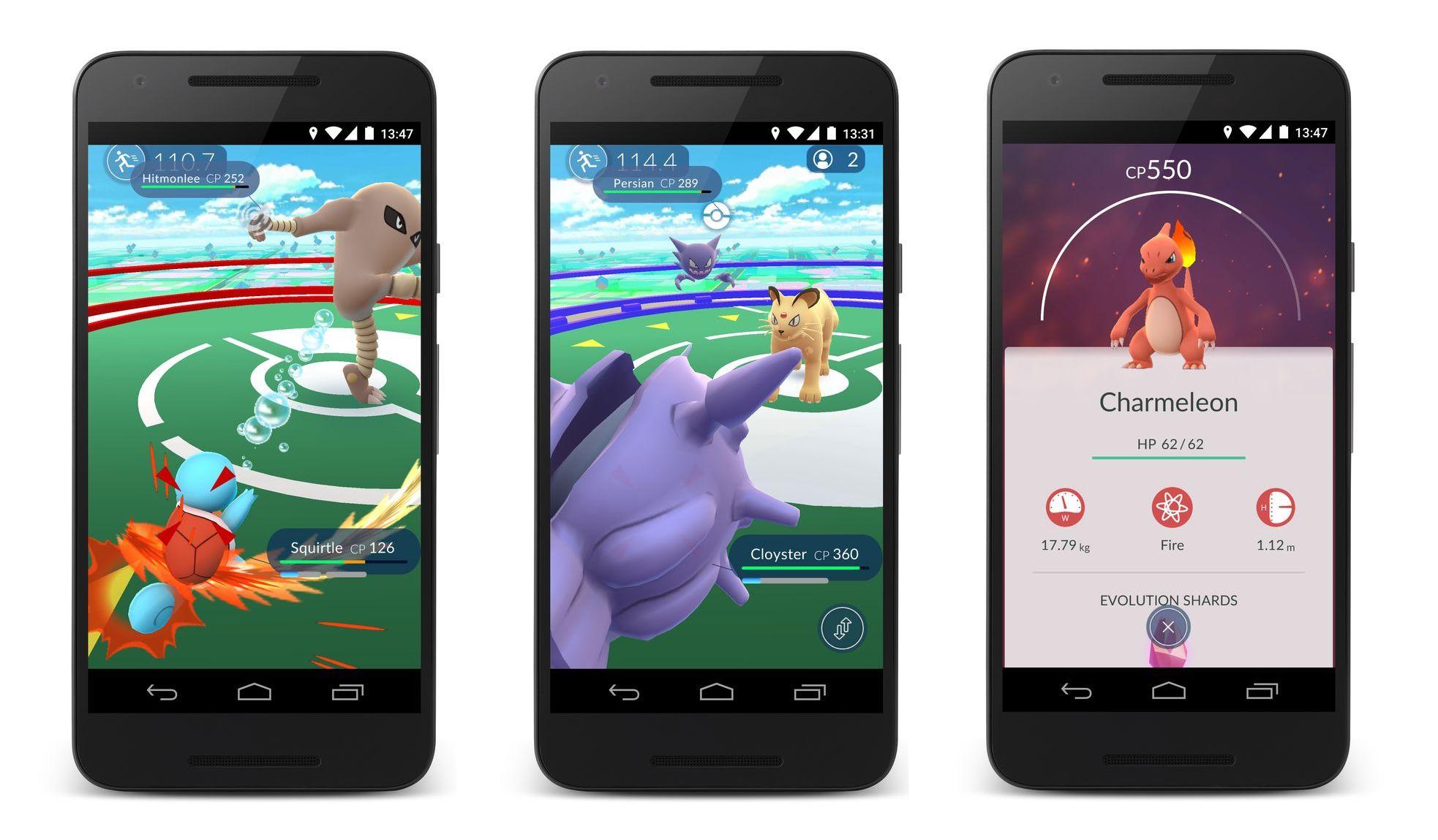 Pokémon Go est déjà plus utilisé que Tinder