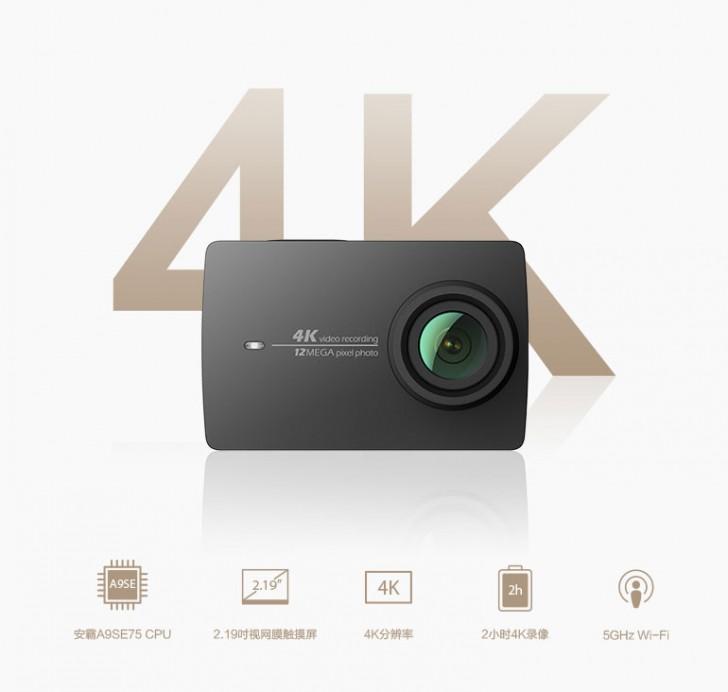 Xiaomi Yi 4K, une nouvelle caméra sportive musclée