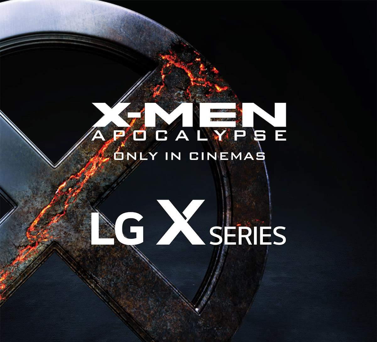 LG profite de la sortie de X-Men Apocalypse pour annoncer deux nouveaux LG X