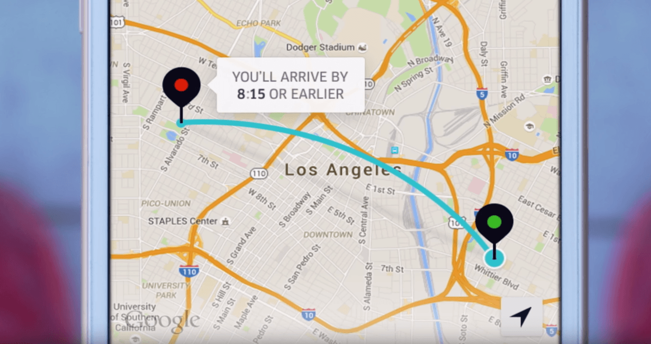 Uber cherche à tracer ses propres cartes pour s'affranchir de Google Maps