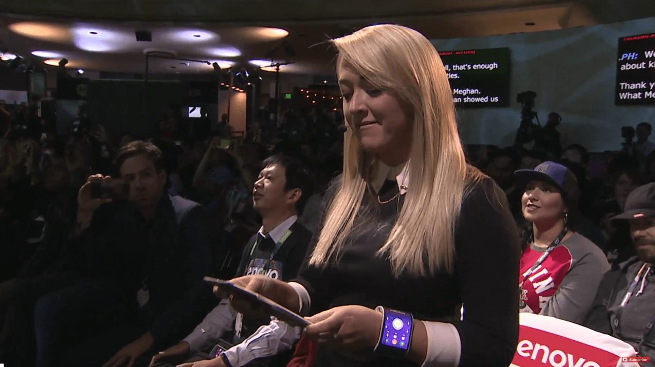 Lenovo sait faire des écrans flexibles, et montre ses projets