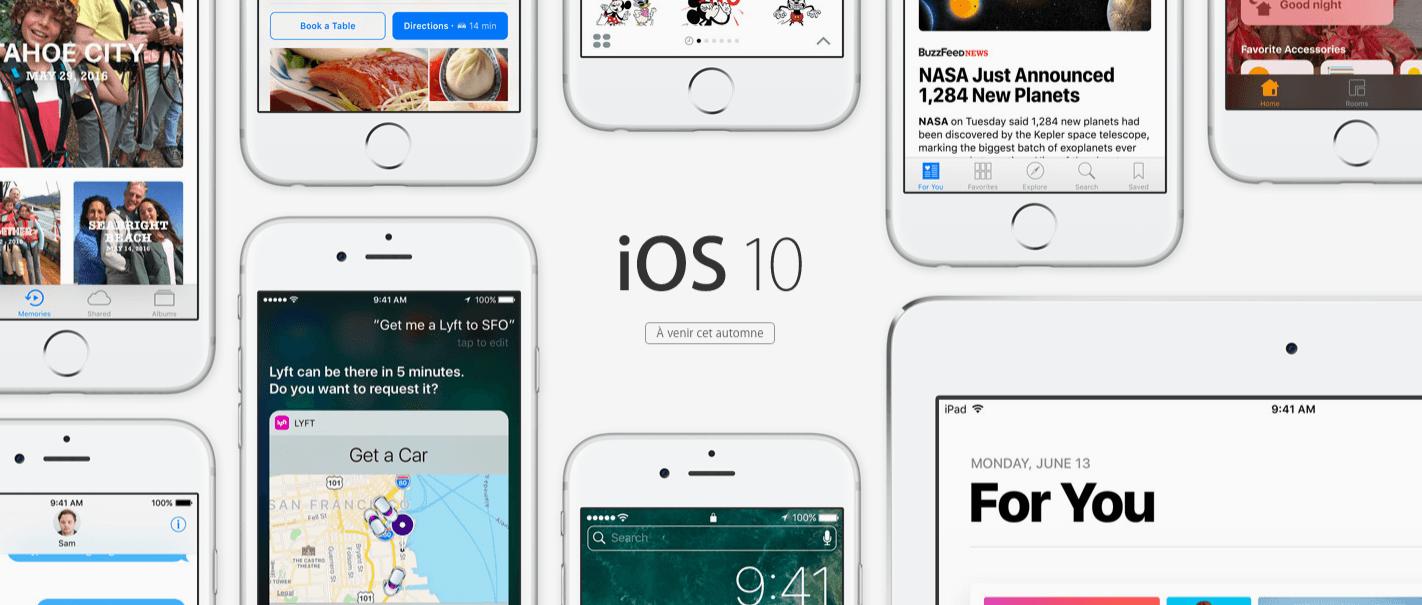 Face à face : les 10 nouveautés d'iOS 10 comparées à Android