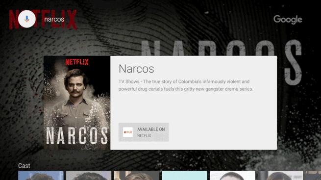 Android TV propose désormais la recherche de contenus dans le catalogue Netflix