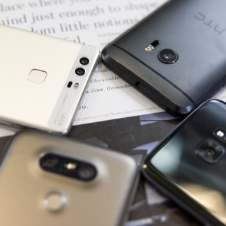 Huawei P9, HTC 10, LG G5 et Samsung Galaxy S7 : le face à face photo