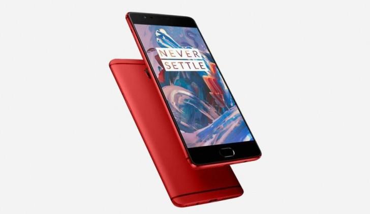 Un OnePlus 3 rouge fait une apparition sur le site chinois de OnePlus