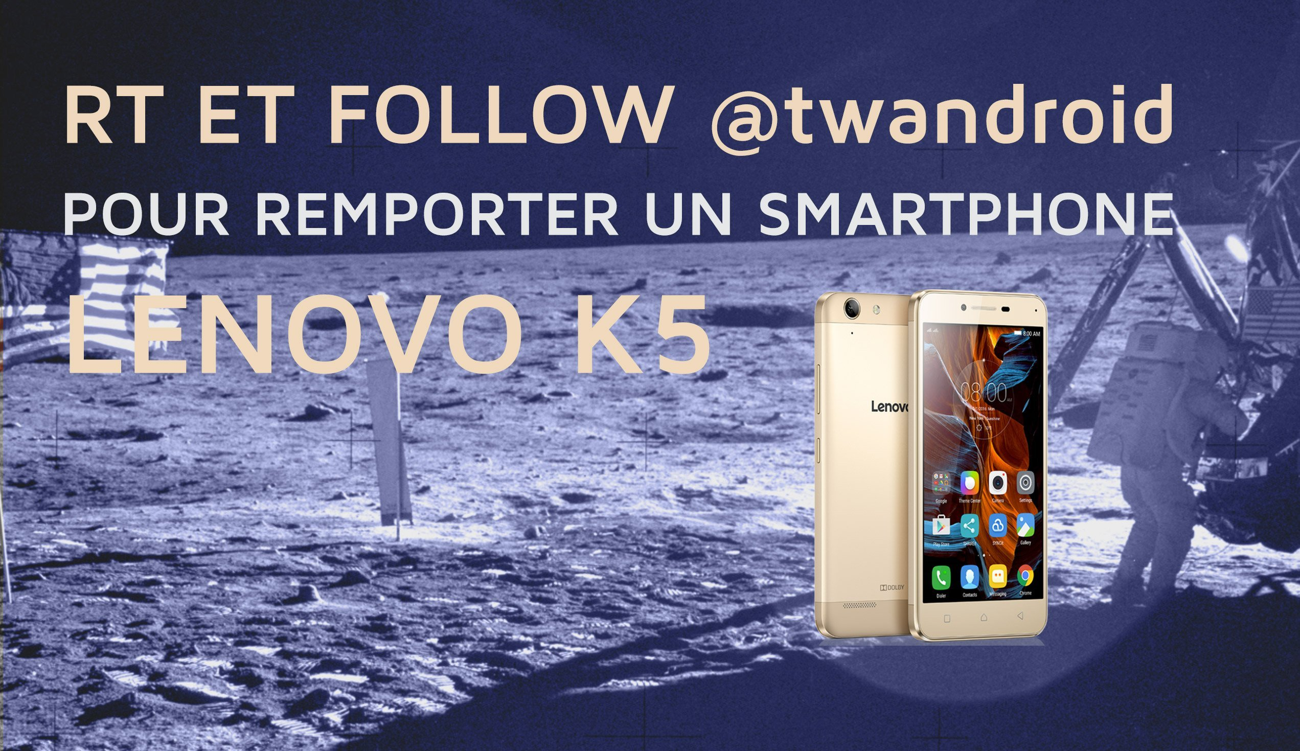 Jeu-concours : tentez de gagner un Lenovo K5
