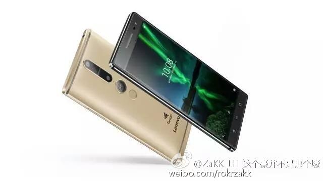 Des images du smartphone de Lenovo basé sur le Projet Tango ?