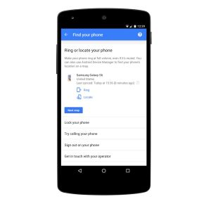 Google simplifie l'accès à son interface de recherche de smartphones perdus