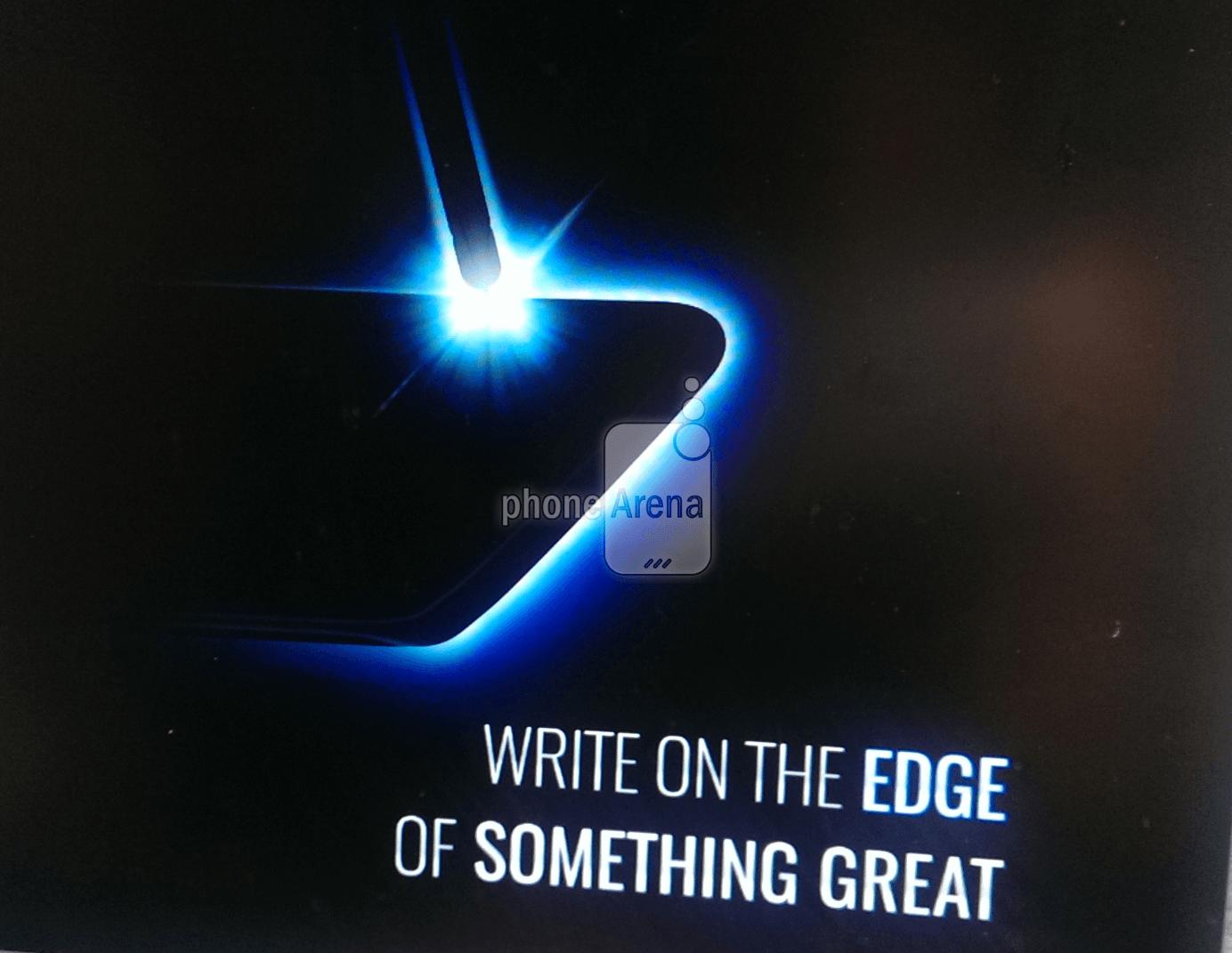 Samsung Galaxy Note 7 : un teaser présumé confirme une version «edge»