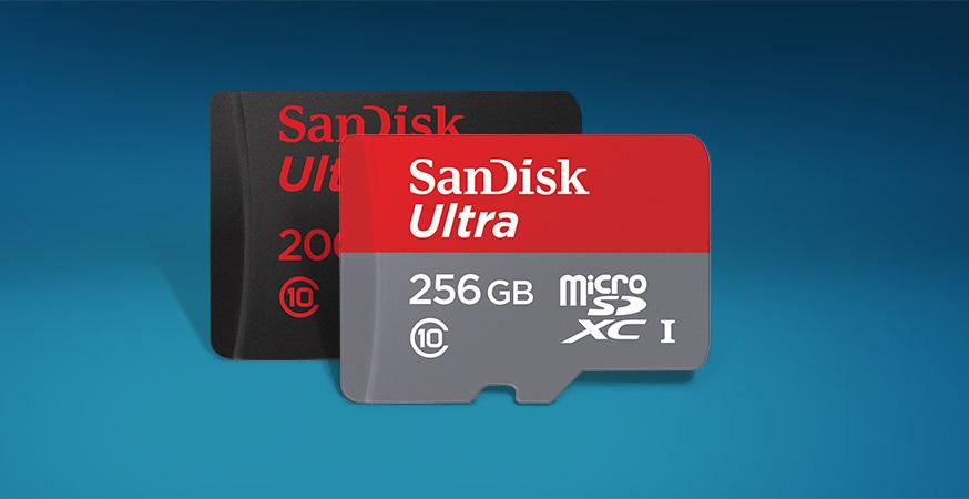 SanDisk dévoile une carte microSD de 256 Go pour faire de l'ombre à Samsung